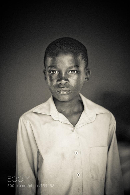 Photograph Andile, Portrait2 by Steve Skibbie on 500px