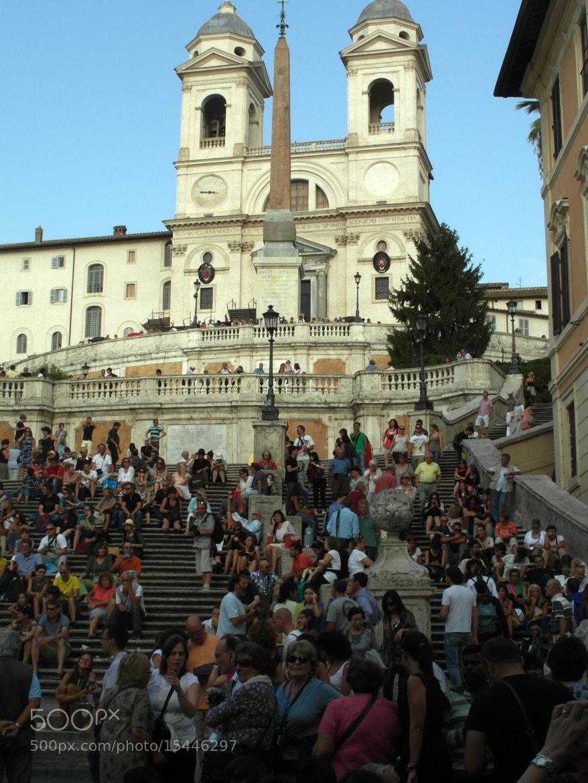 Photograph Trinità dei Monti by AntonelloBerardi on 500px