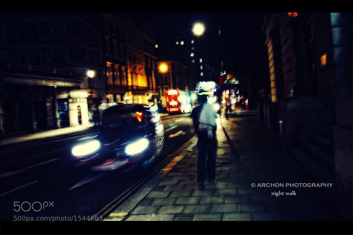 Photograph night walk by George Xourafas on 500px