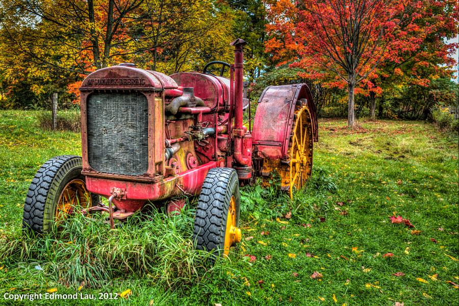 Tractor by Edmond Lau (elau) on 500px.com