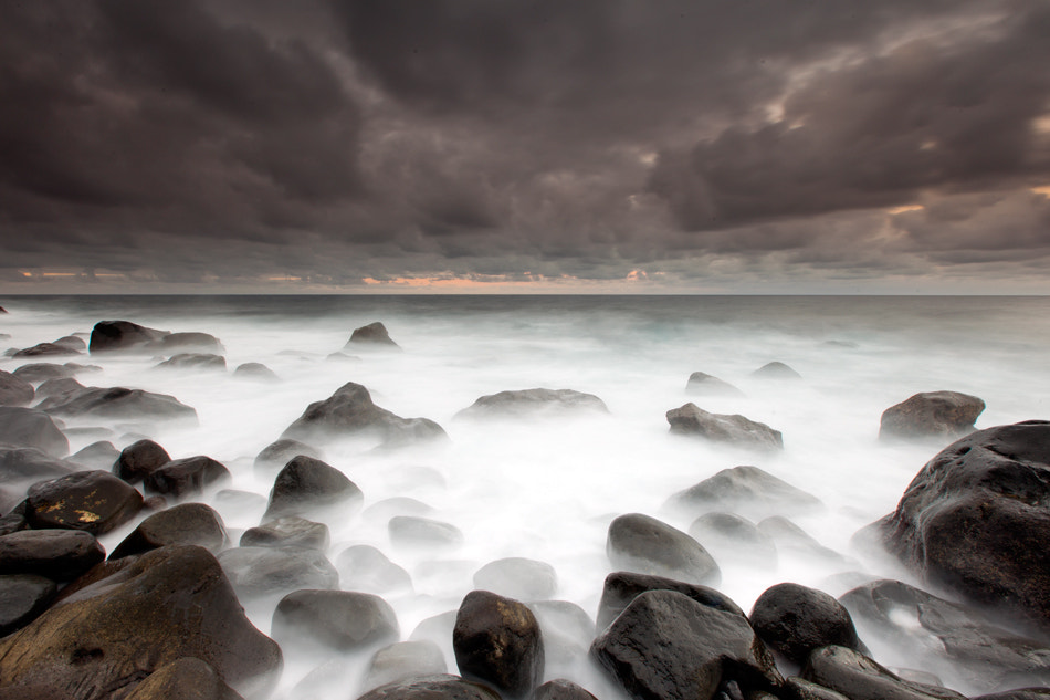 Photograph Black Stones by Jorge  Feteira on 500px