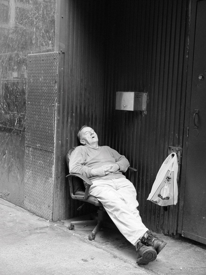 Photograph Streetside Snooze by Justin Gillion on 500px