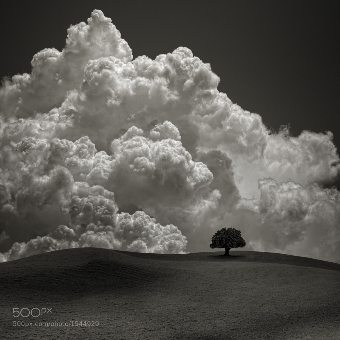 Photograph The Storm Behind the Hill by Carlos Gotay on 500px