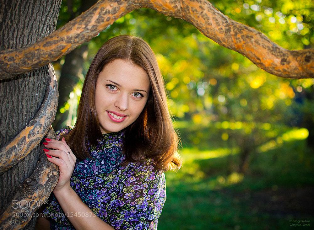 Photograph Аня by Dima Oleynik on 500px