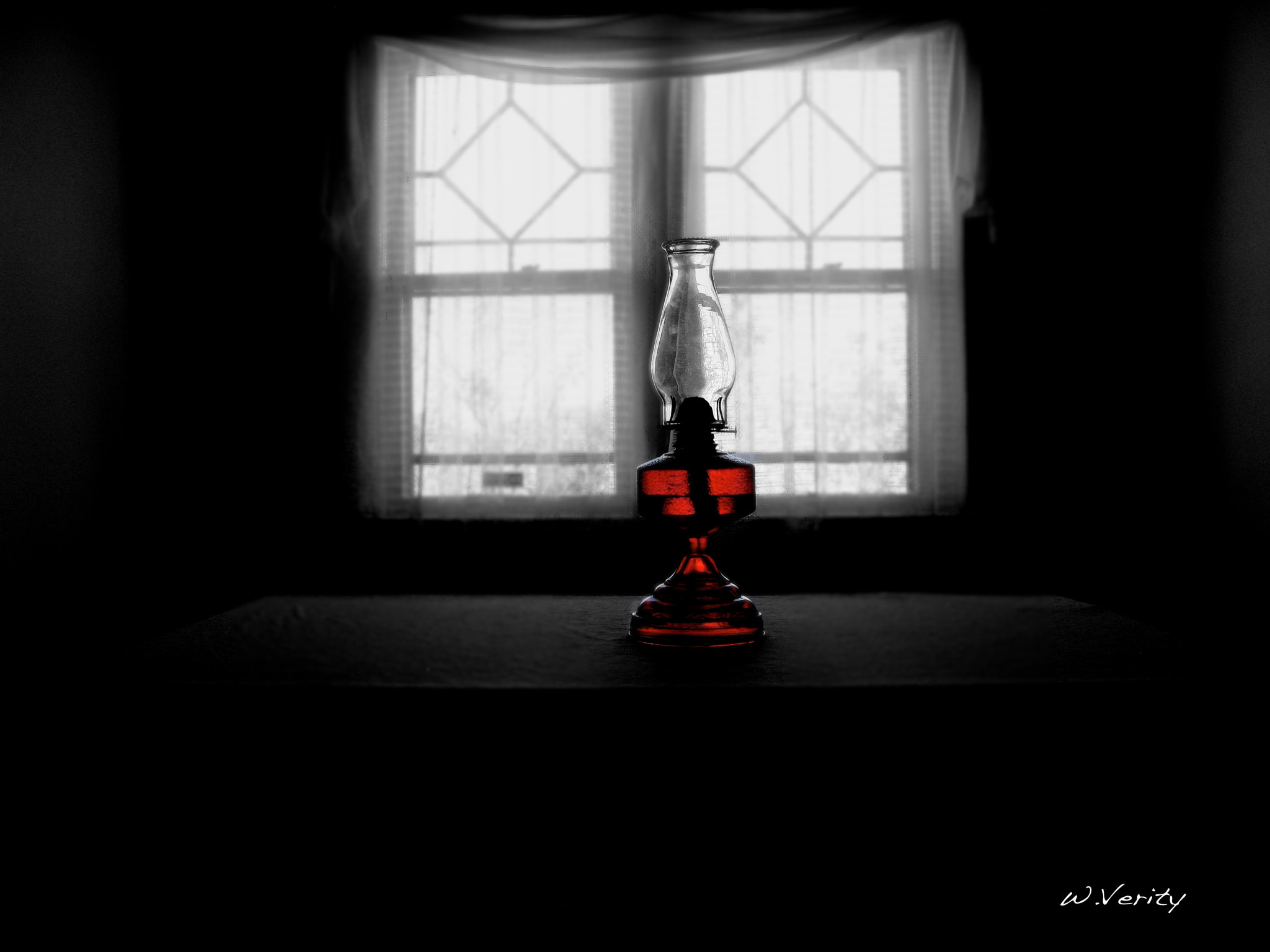 Photograph Red Lamp by Warren Verity on 500px