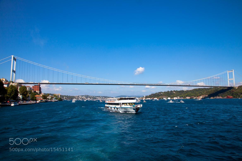 Photograph fishing fleet with bosphorus bridge by Cüneyd Demirci on 500px