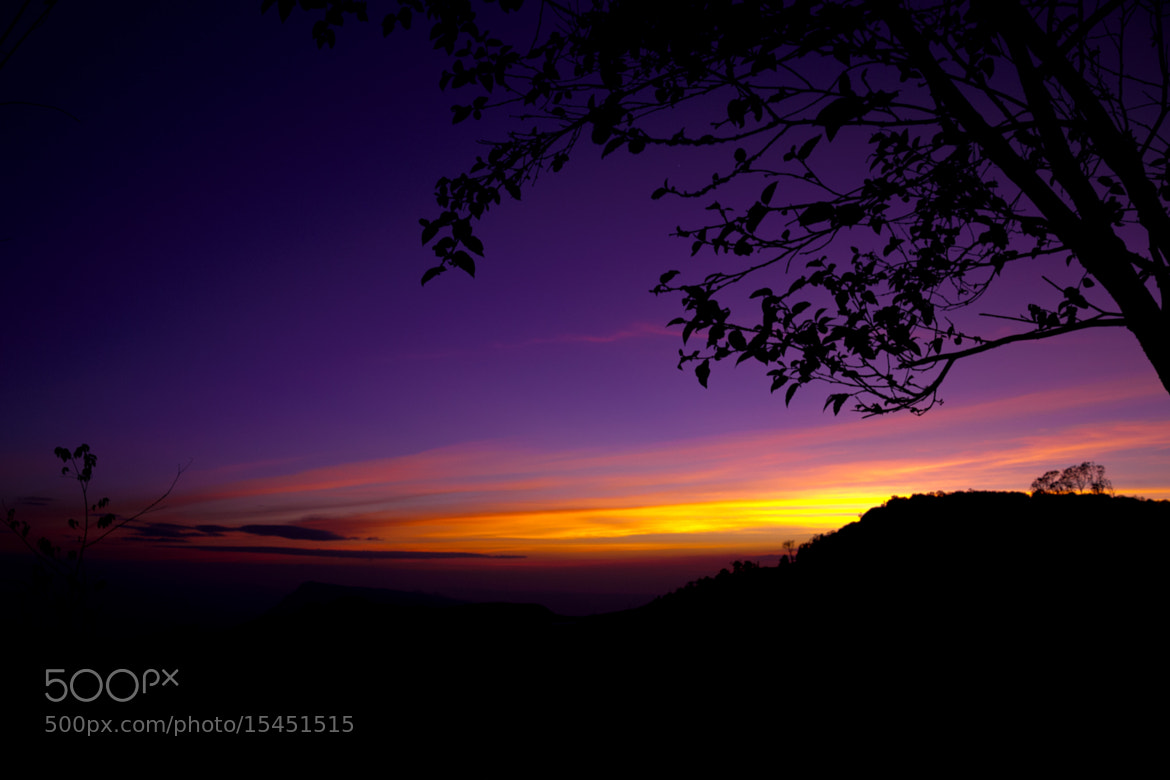 Photograph Sunset at the top of Phetchabun by Sirinun Kaewchampa on 500px