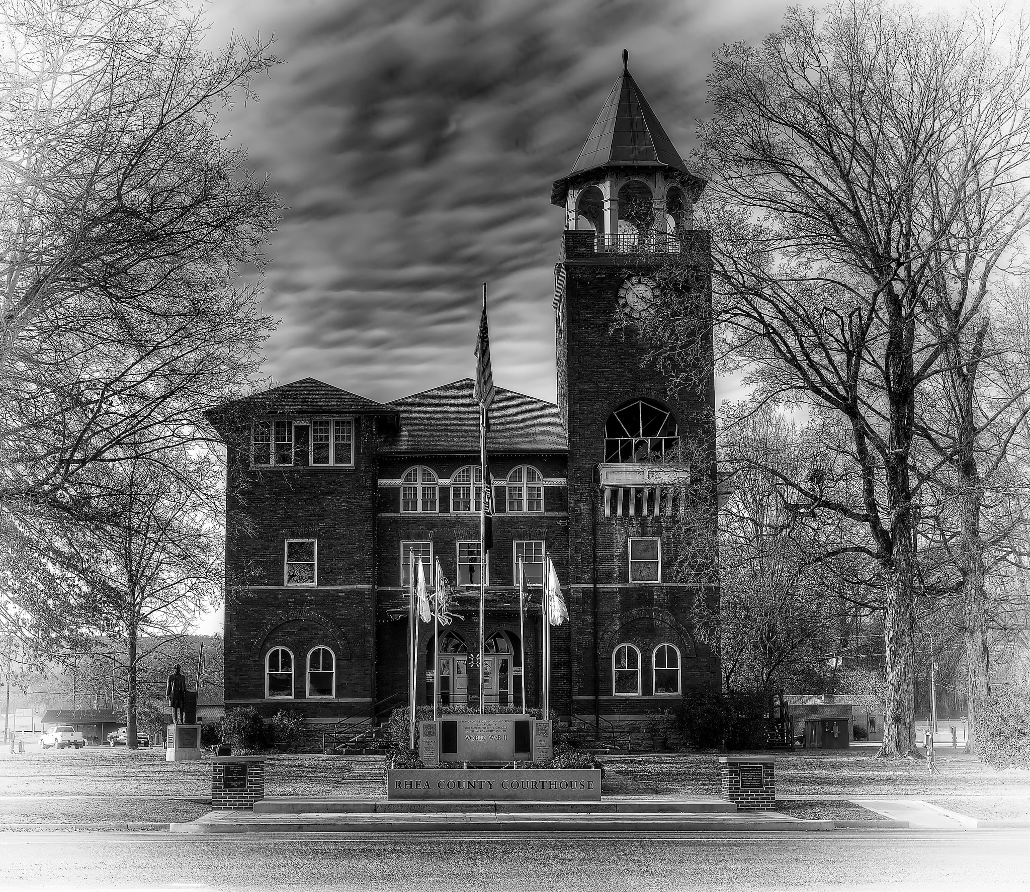 Photograph Home of the Scopes Monkey Trial by Keith Mitchell on 500px