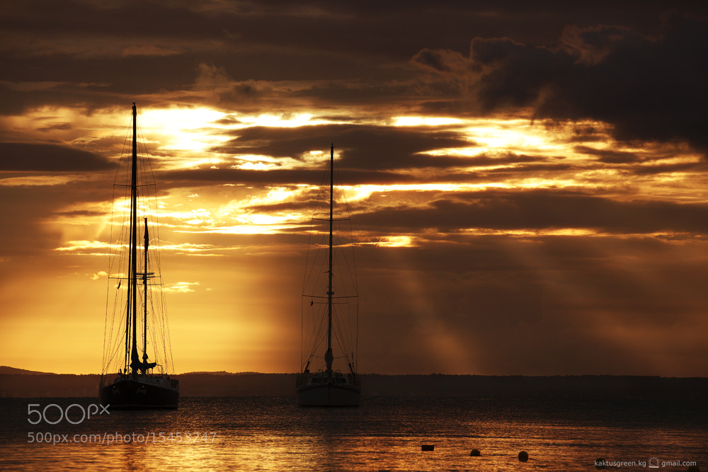Photograph boats and heaven by Kaktus Green on 500px