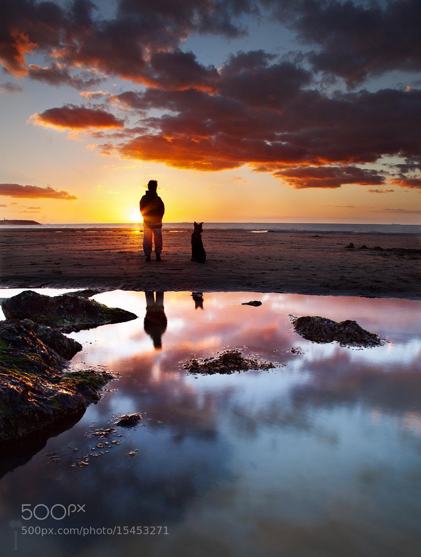 Photograph Best Friends Sunset by Romain Matteï on 500px