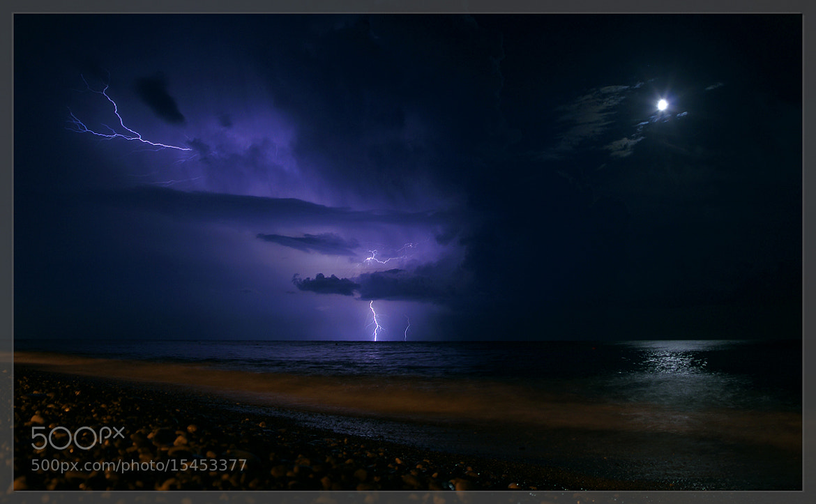 Photograph Lightning in the night by Konstantin Alexeev on 500px