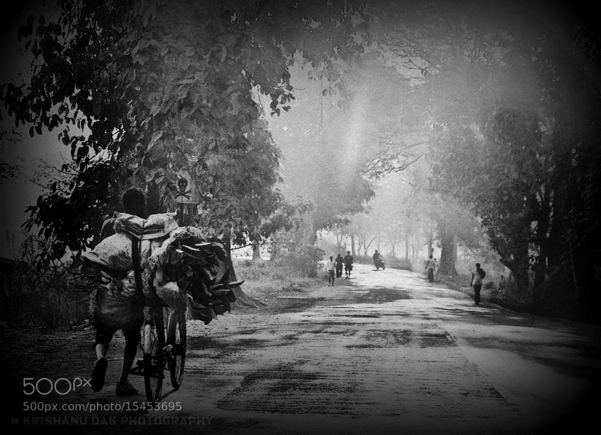 Photograph The light in the darkness by Krishanu  Das on 500px