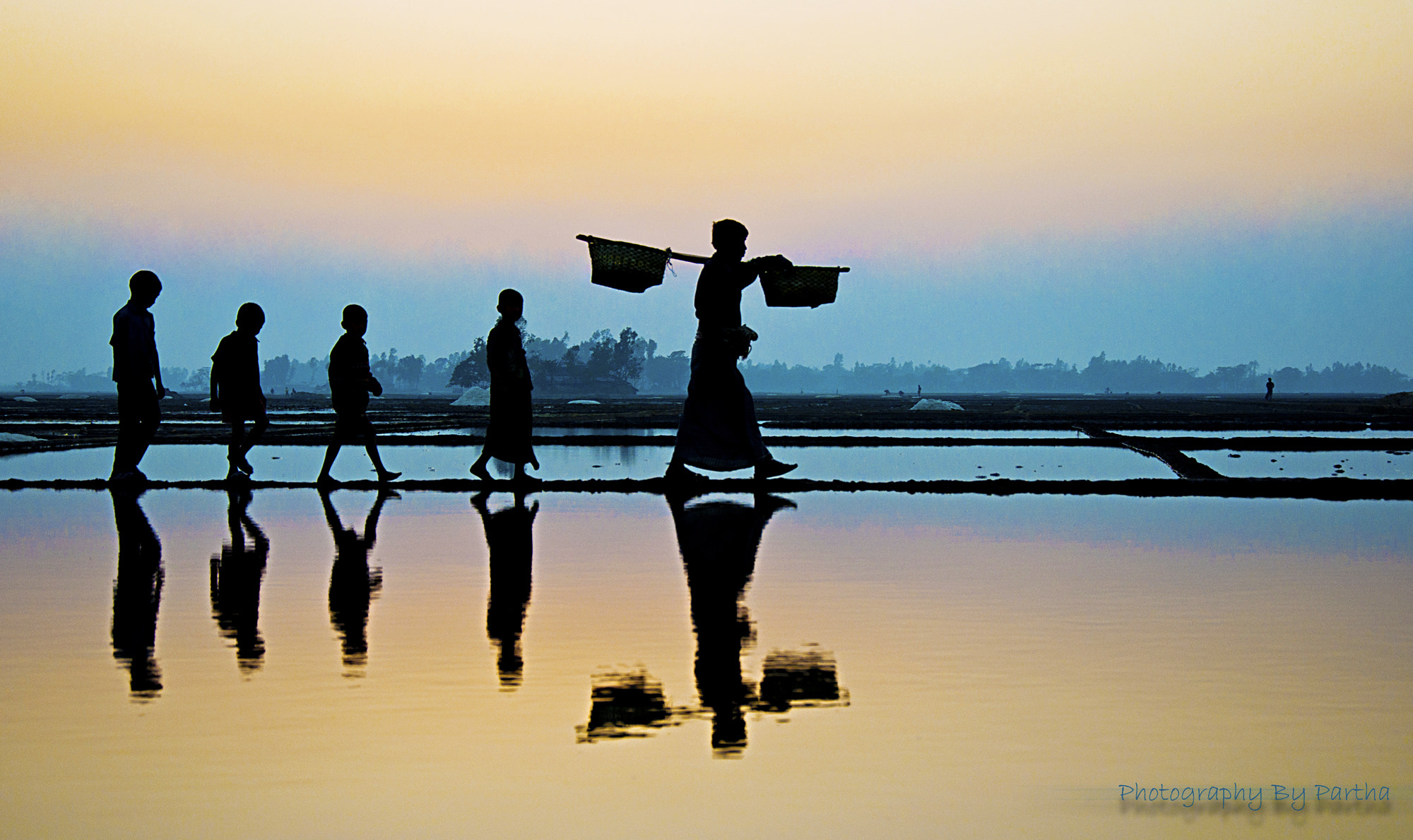 Photograph Reflection of life by Partha Basak on 500px