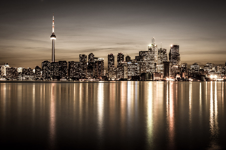 Photograph Toronto Cityscape by Peter FK on 500px