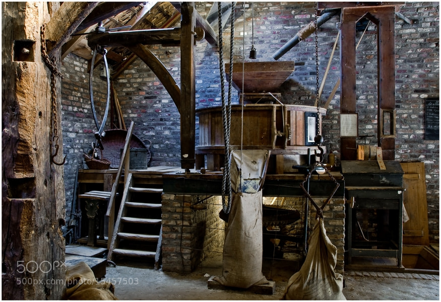 Photograph Old Cornmill by Cor Pijpers on 500px