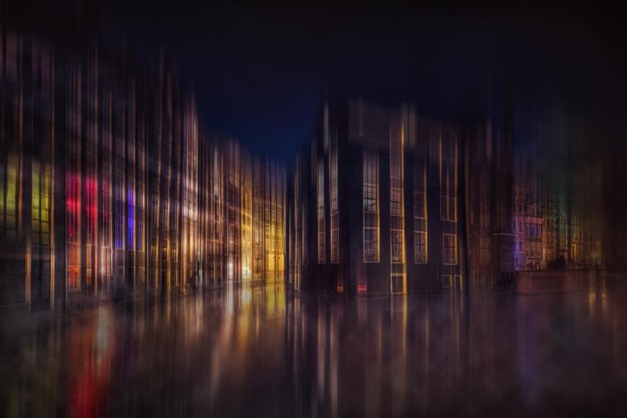 Foggy Amsterdam