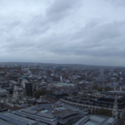View from St Paul's, Fujifilm FinePix S2960