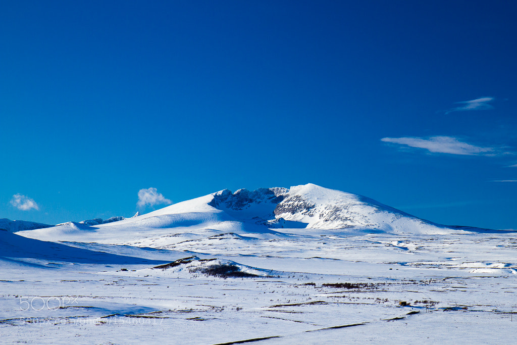 Photograph Snøhetta, Dovre mountains (winter) by Geir A Granviken on 500px