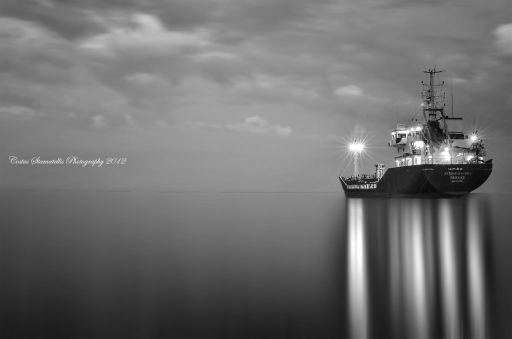 Photograph The ship by Costas Stamatellis on 500px