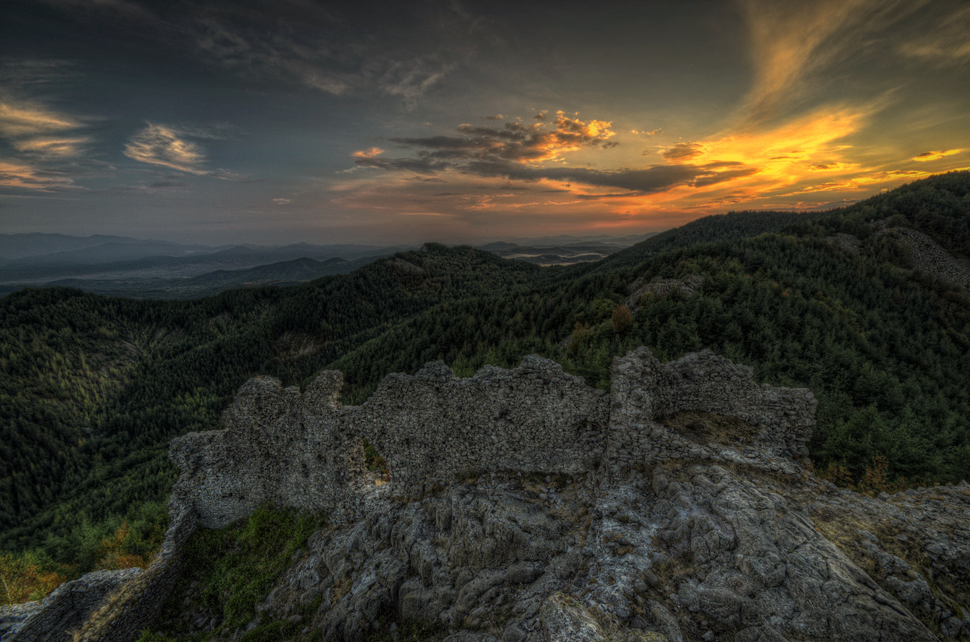 Photograph The greatness of the fortress Ustra by Vasil Anastasovski on 500px