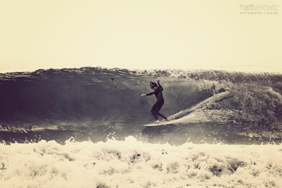 Surfing in Rye, NH