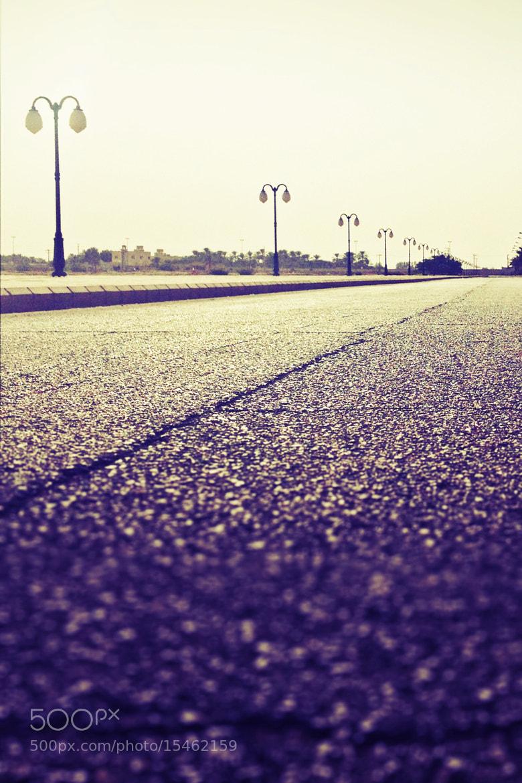 Photograph STREET ! by Saad alkhaldi on 500px