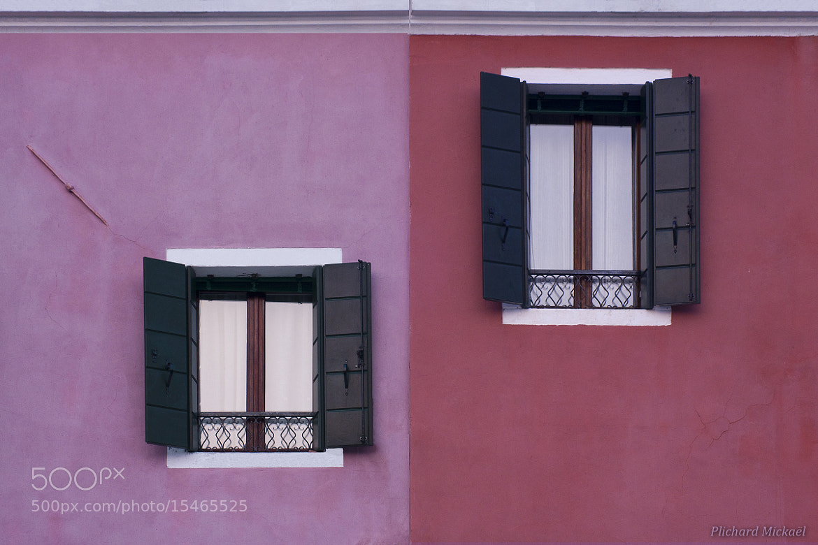 Photograph Facade of Burano by Mickaël Plichard on 500px