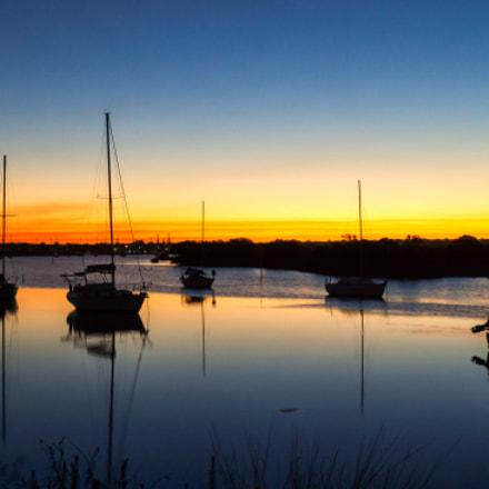 Yamba Boat Harbour NSW Australia