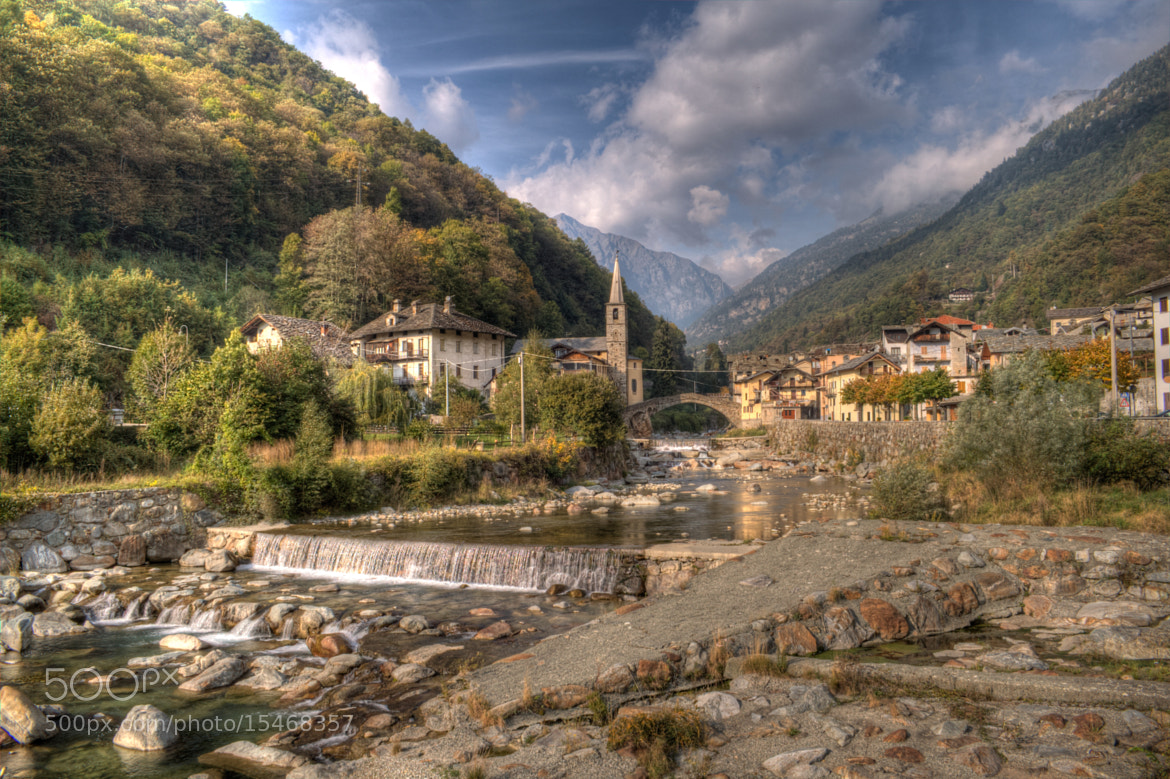 Photograph Fontainemore, Aosta, Italy_HDR by Giorgia Caserio on 500px