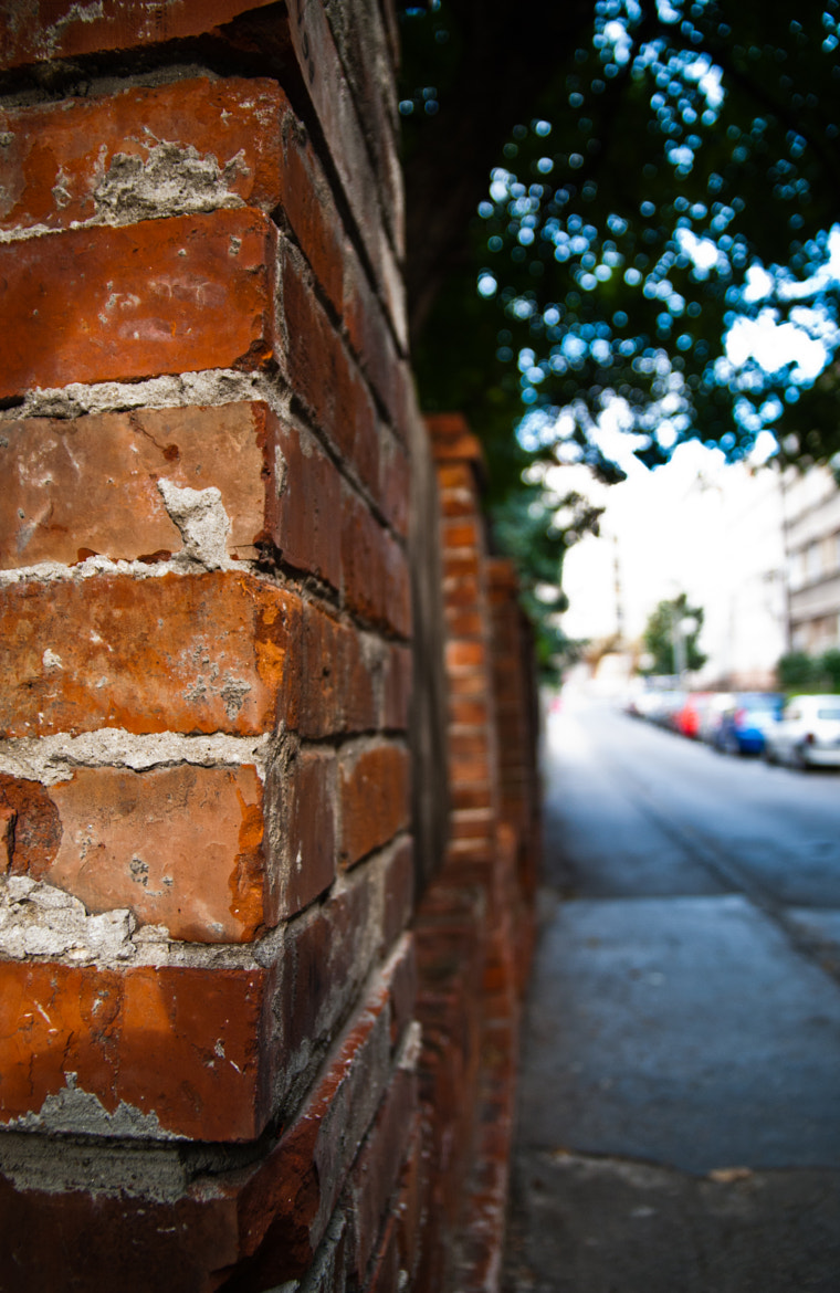 Photograph Brick fence by Bratislav Ljubisic on 500px