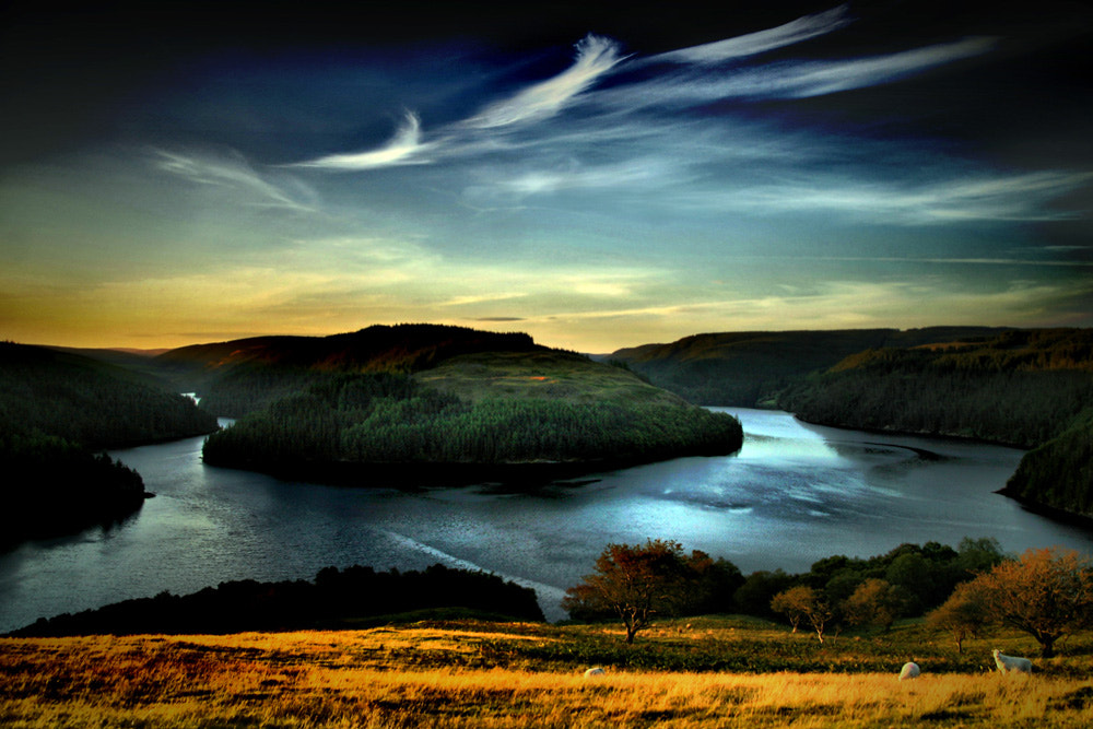 Photograph a welsh sunset by pthobson19 on 500px