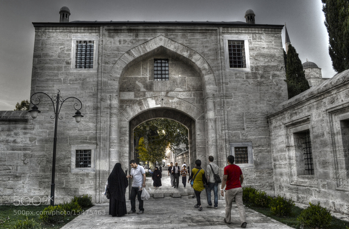 Photograph Suleymaniye Mosque Entrance by Murat Ekmen on 500px