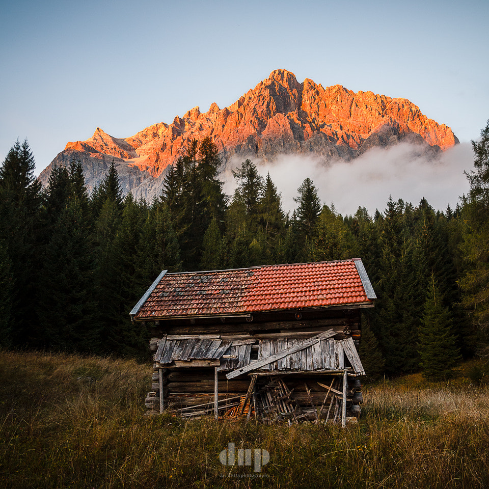Photograph The Hut and the Zugspitze by David Hera on 500px