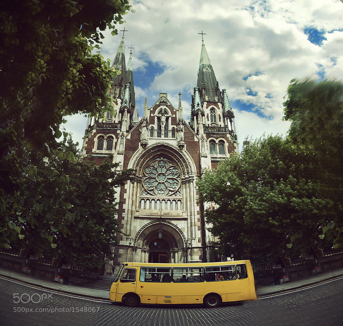 Photograph smiling bus by Darie C` on 500px
