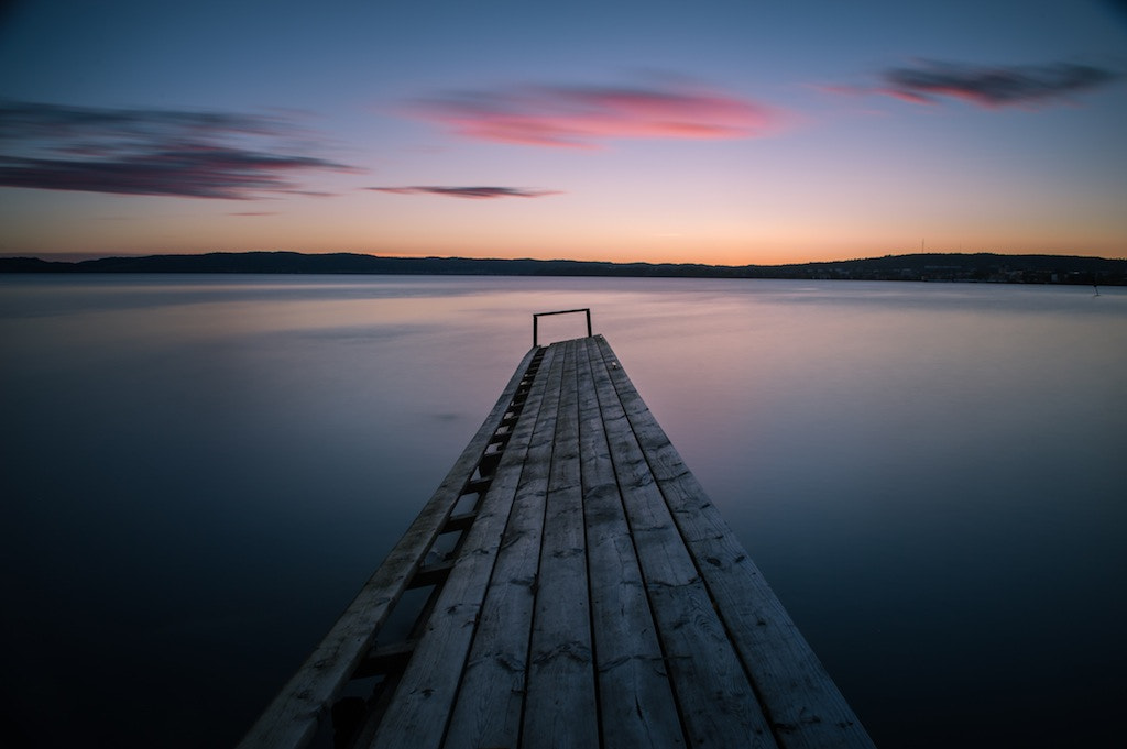 Photograph waiting for the sunrise by Linus Englund on 500px