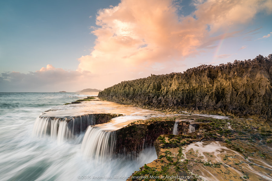 SEA FALLS by Andre Luu on 500px.com