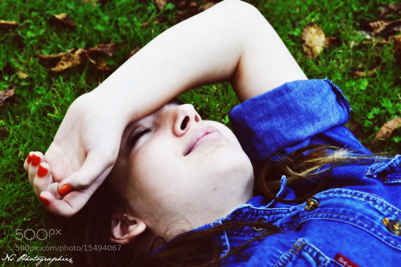 Photograph Blue Jacket. by Beyza Nur on 500px