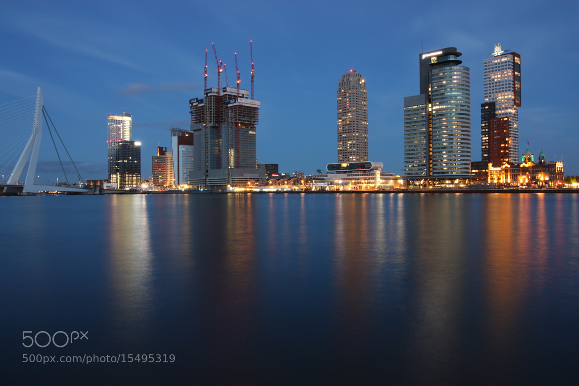 Photograph Rotterdam at dusk by Ilya Korzelius on 500px