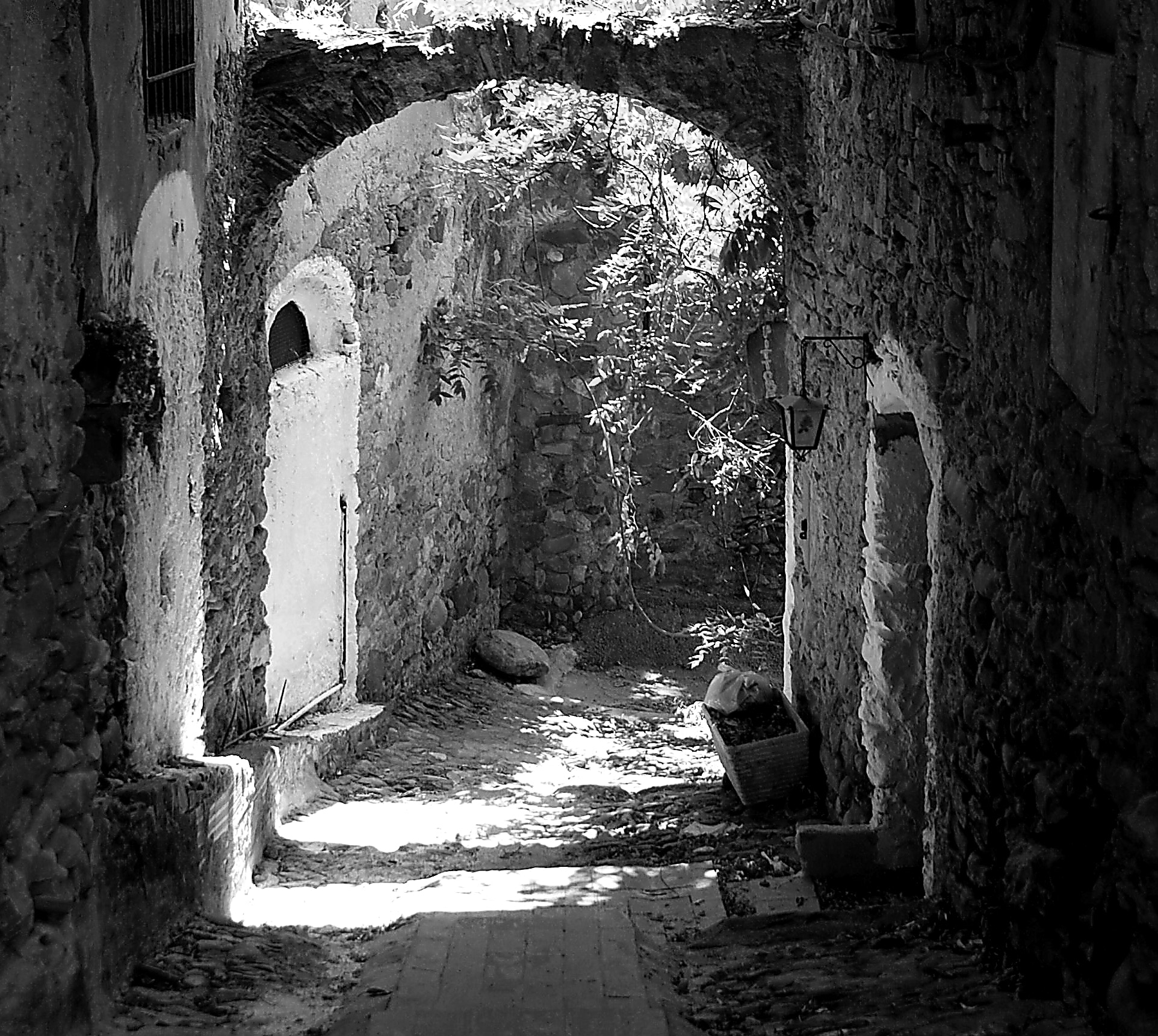 Photograph Alley in old Bussana by Maria Laura Spini on 500px