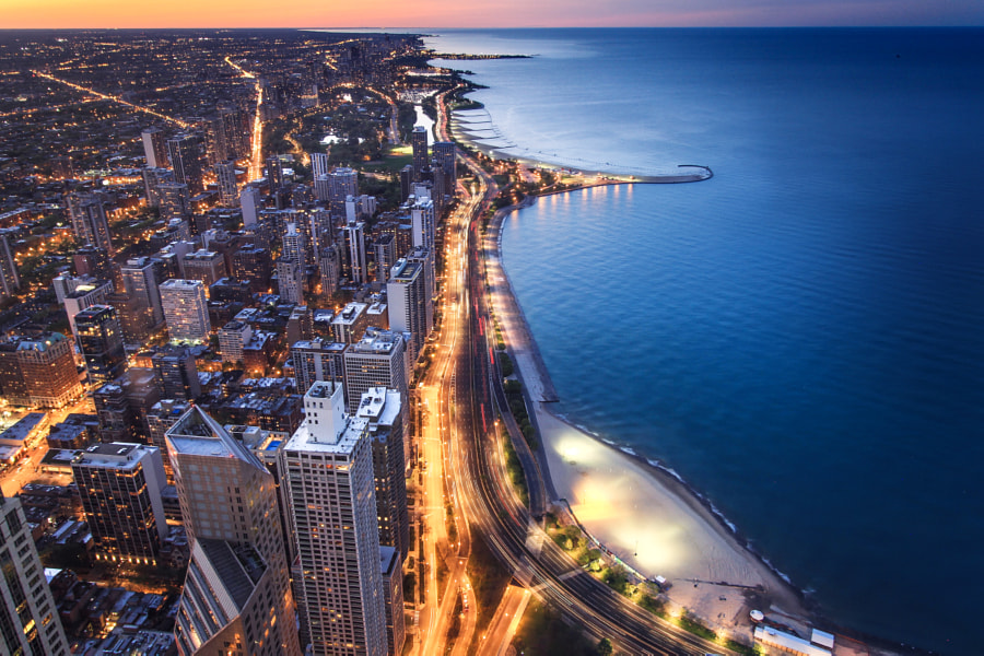 Chicago by Crystal  Provencher on 500px.com
