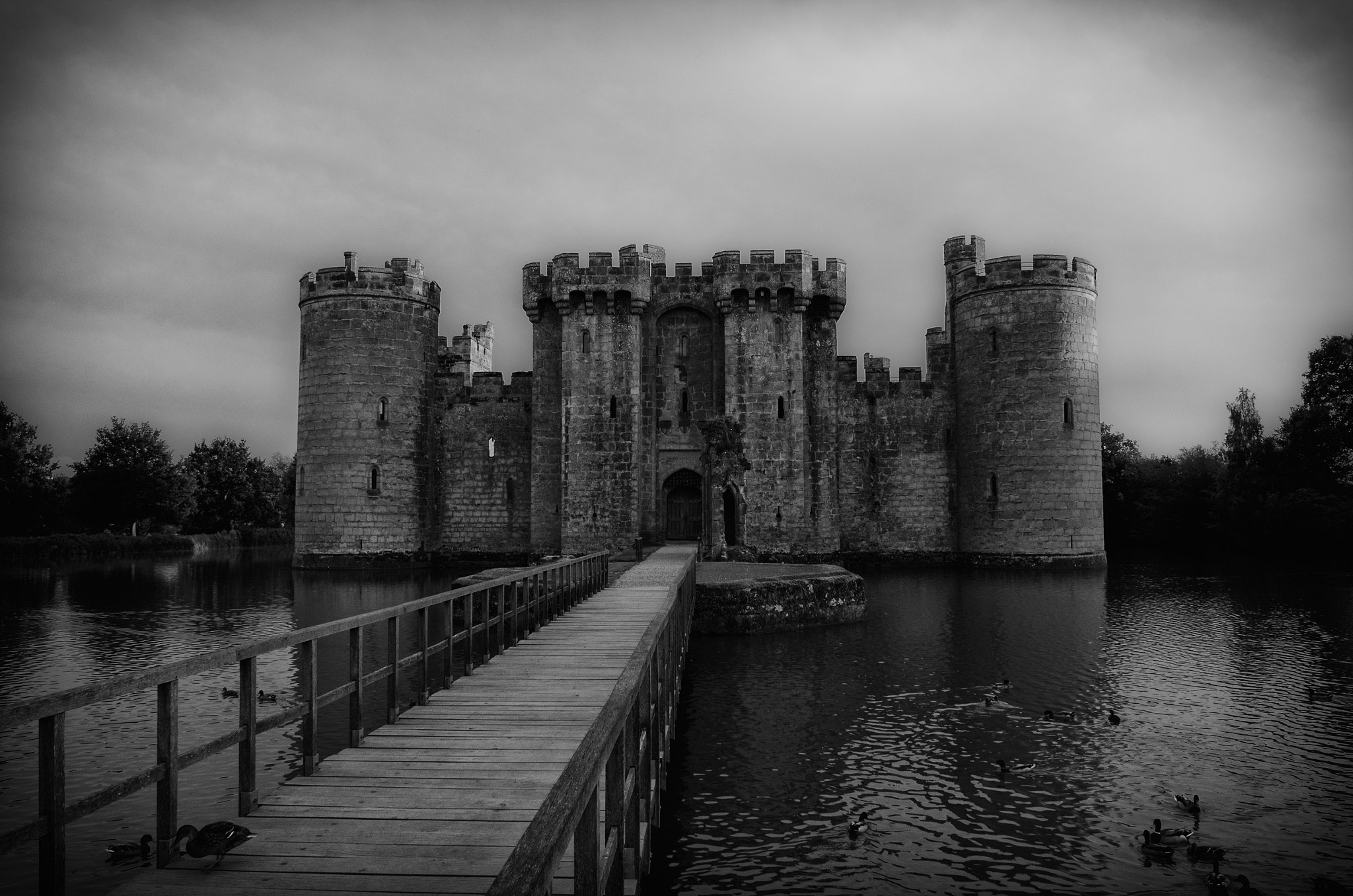Photograph Bodium Castle by Ross Saxby on 500px