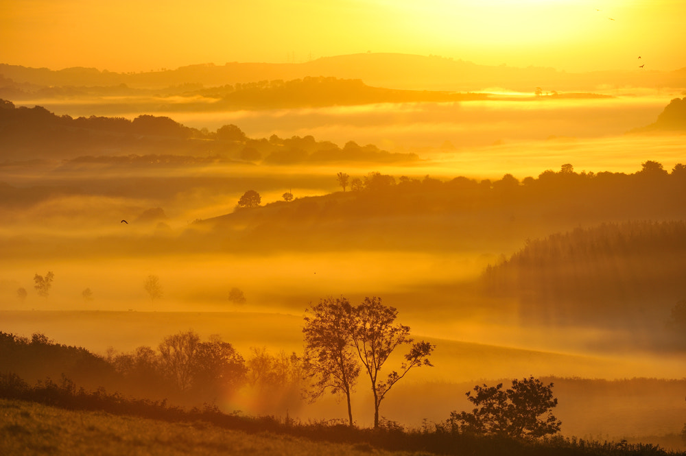 Photograph Sunrise from Exmoor by Kevin  Keatley on 500px