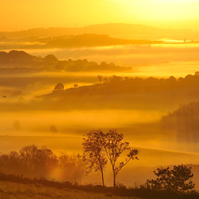 Sunrise from Exmoor by Kevin  Keatley (kevinkeatley)) on 500px.com