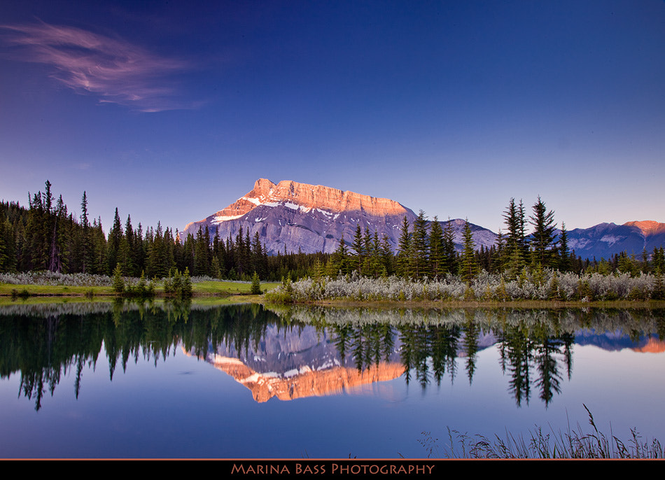 Photograph *** Mt Rundle *** by Marina Bass on 500px