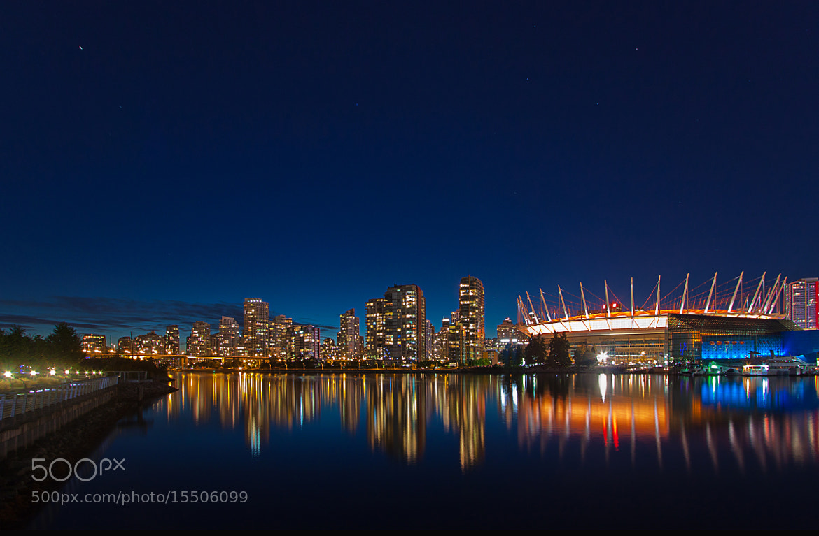 Photograph False Creek at Dusk by Darren Brown on 500px