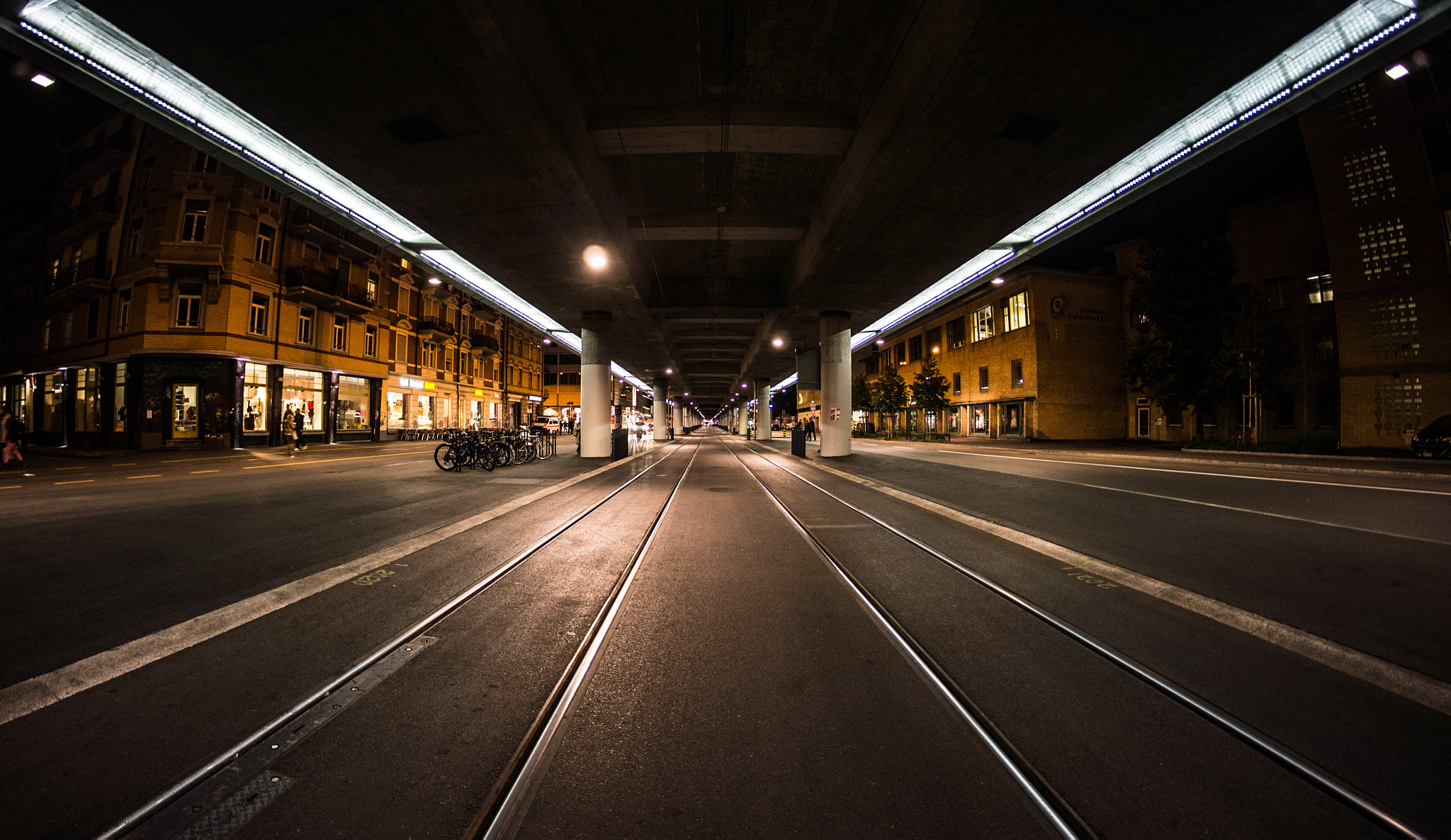 Photograph Zurich by Night by Thomas Marti on 500px