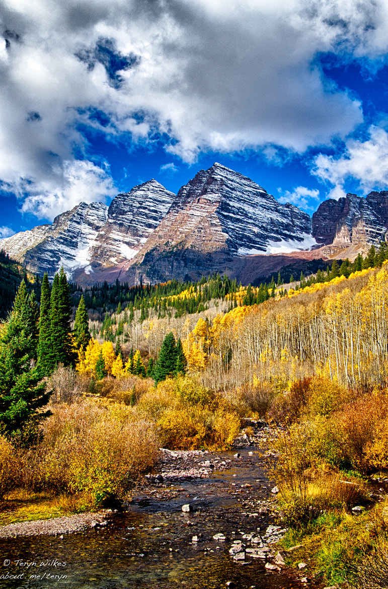 Photograph Maroon Bells Runoff by Teryn Wilkes on 500px