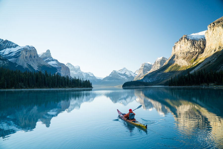 Maligne Lake by Chris  Burkard on 500px.com