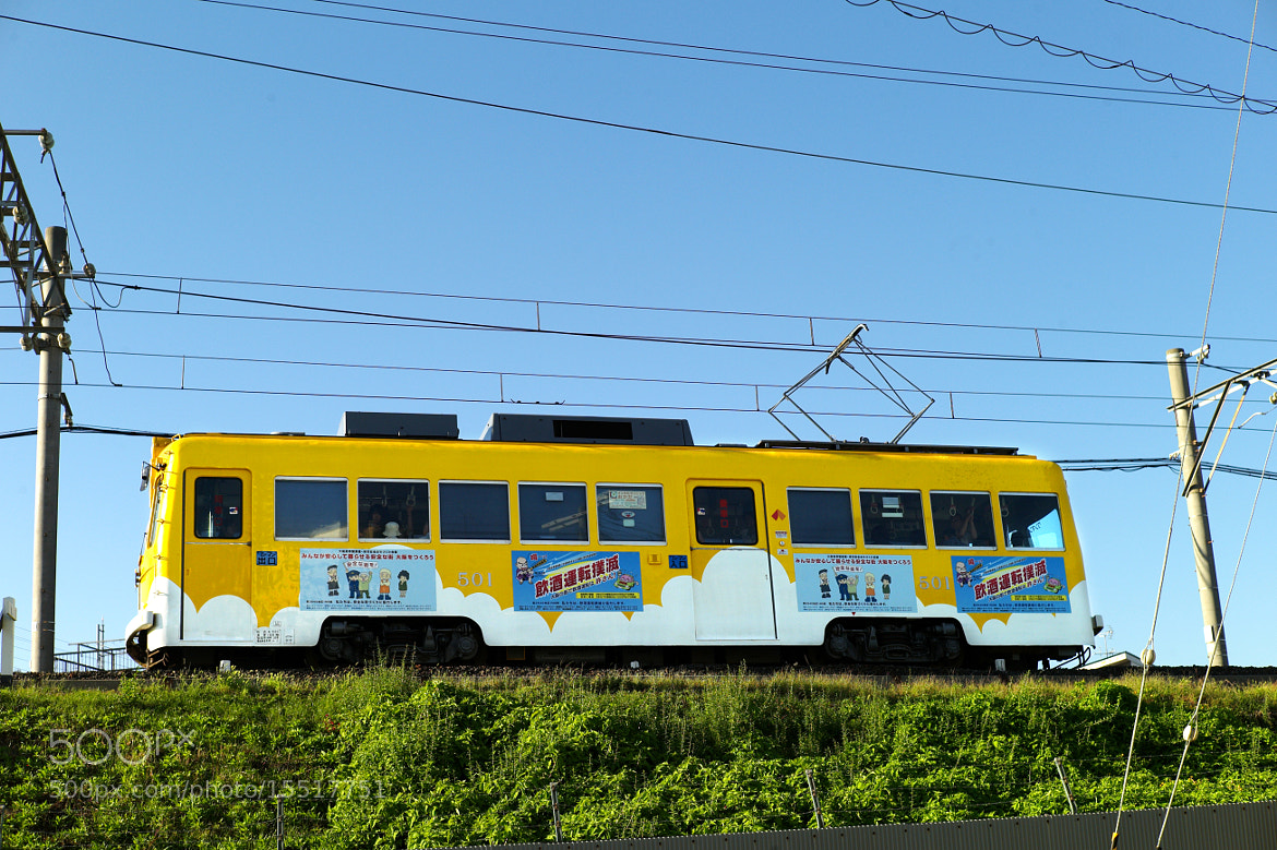 Photograph Yellow train by Mitsuru Moriguchi on 500px