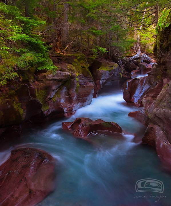 "Photograph ""AVALANCHE CREEK"" by James Fougere on 500px"